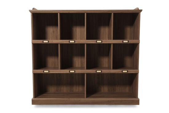 Three-Shelf Casual Bookcase in Oak