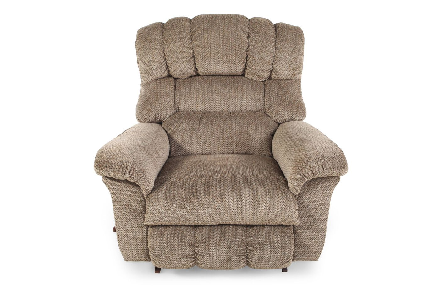 La Z Boy Casual 46 Quot Rocker Recliner In Bamboo Mathis Brothers