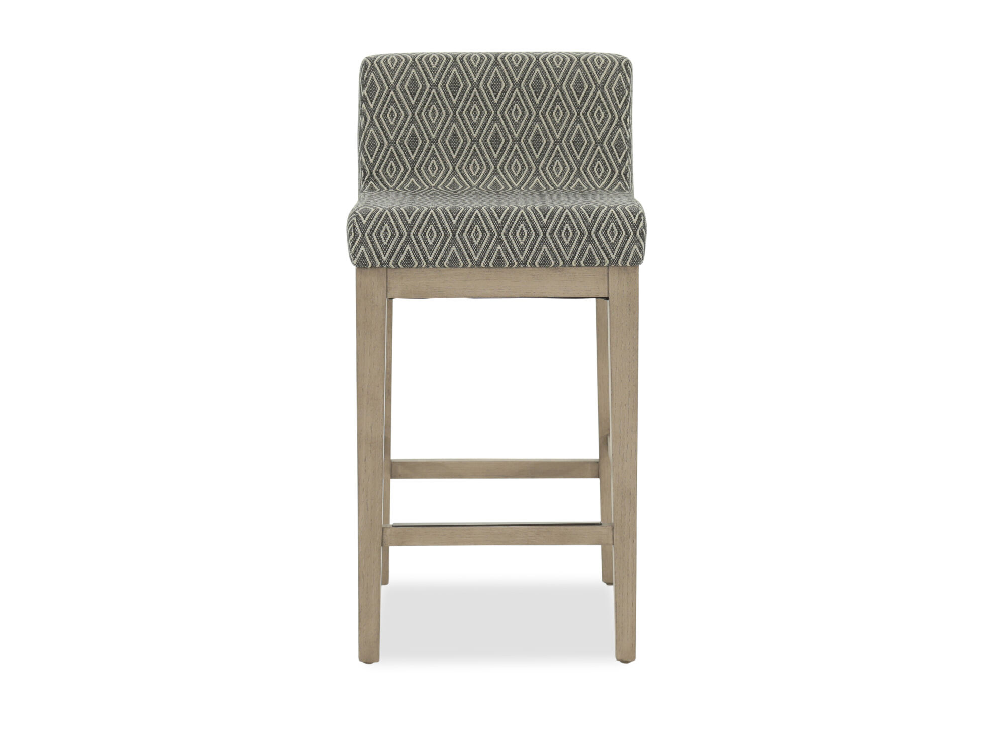 diamond patterned 33 bar stool mathis brothers furniture. Black Bedroom Furniture Sets. Home Design Ideas