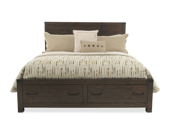 Magnussen Home Pine Hill Queen Storage Bed