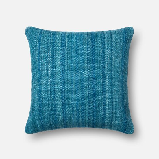 "22""x22"" Pillow Cover Only in Blue"