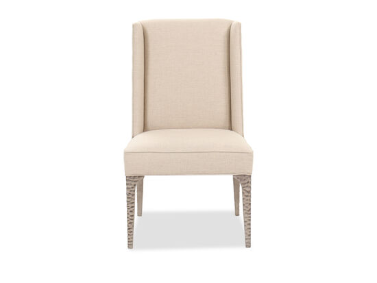 """42"""" Contemporary Host Chair in Beige"""