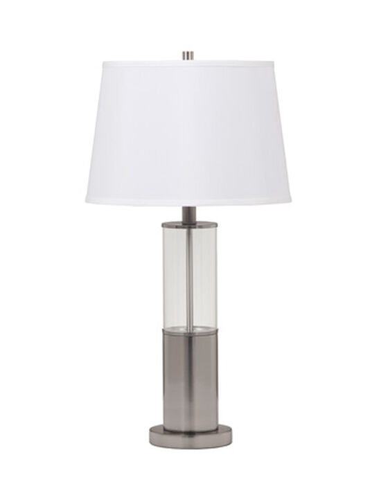 Contemporary Cylindrical Table Lamp