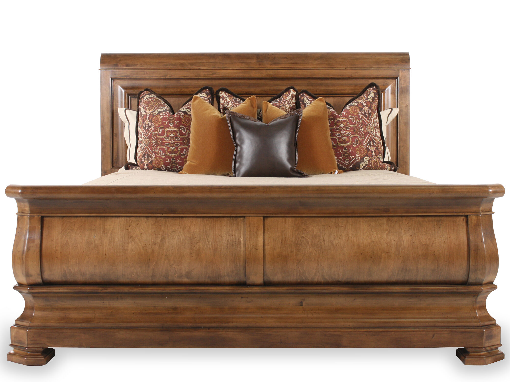 Universal Pennsylvania House New Lou King Sleigh Bed ...