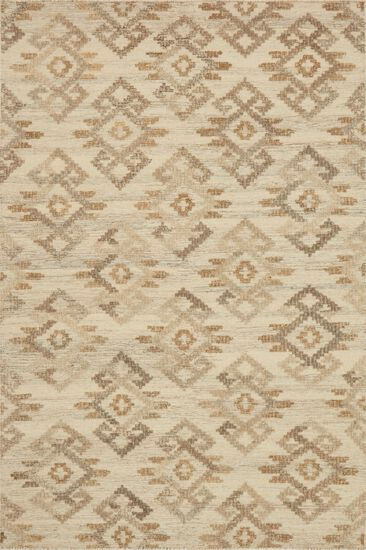 """Transitional 5'-0""""x7'-6"""" Rug in Ivory/Beige"""