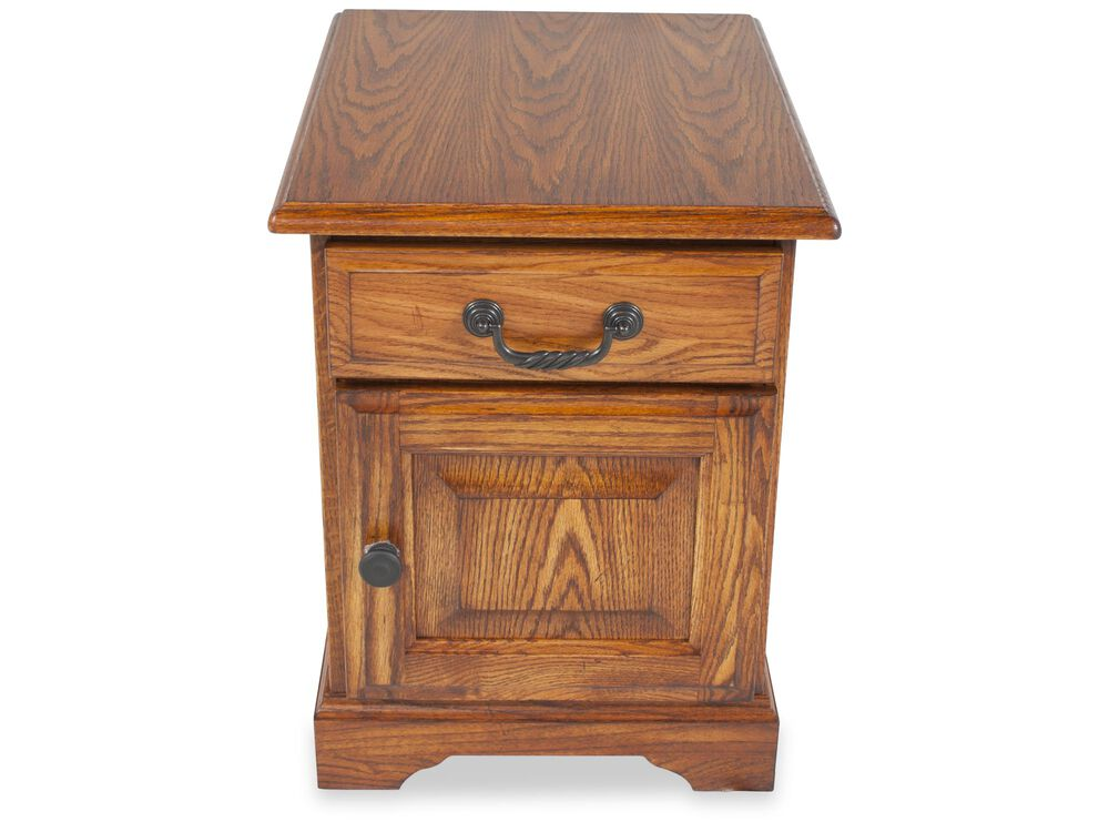 Images Square Country End Table Nbsp In Golden Oak