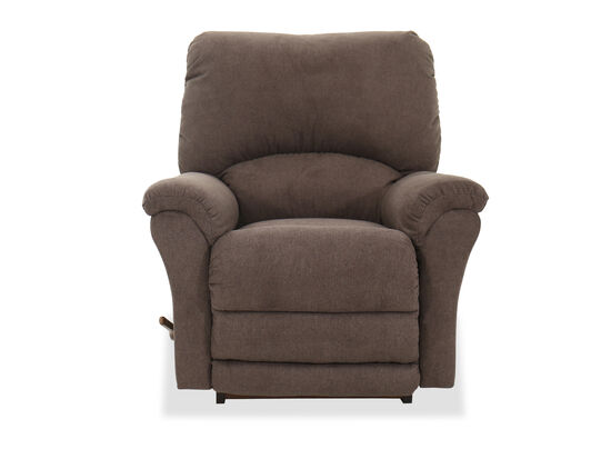 "Casual 39"" Rocker Recliner in Brown"