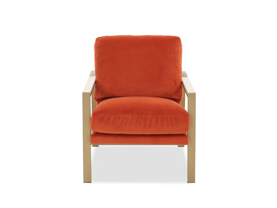 Casual Arm Chair in Flame