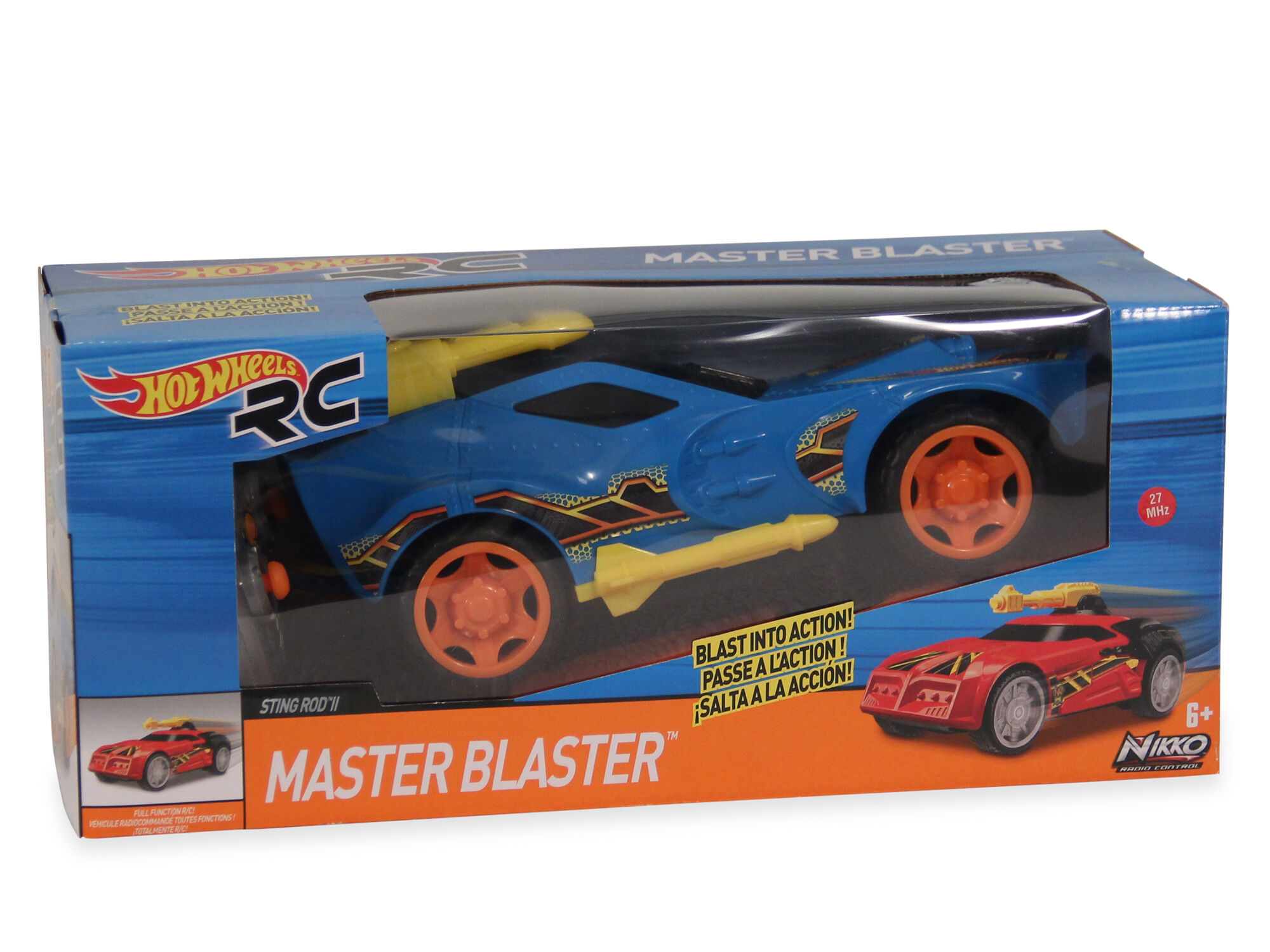 Hot Wheels Master Blaster Sting Rod Ii Rc Car Mathis Brothers
