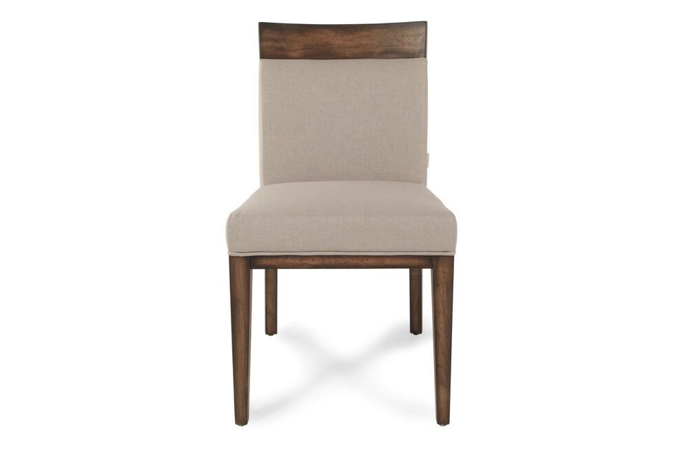"""Contemporary 35"""" Dining Chair in Beige"""