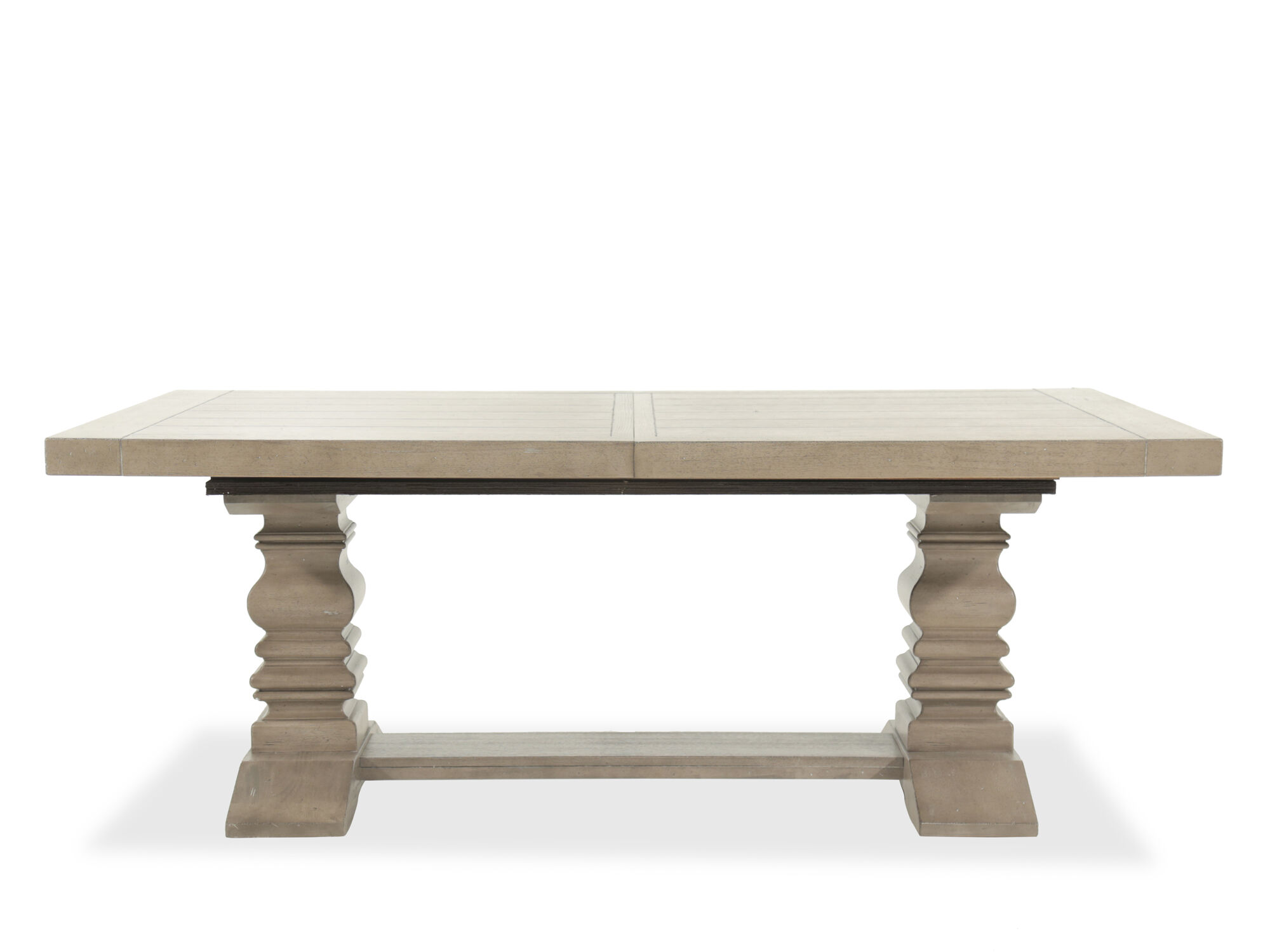 Traditional 59 Quot To 95 Quot Double Pedestal Rectangular Table
