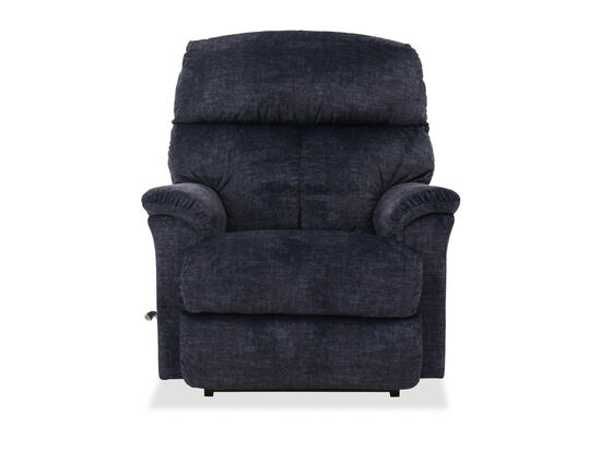 "36"" Casual Rocker Recliner in Navy"