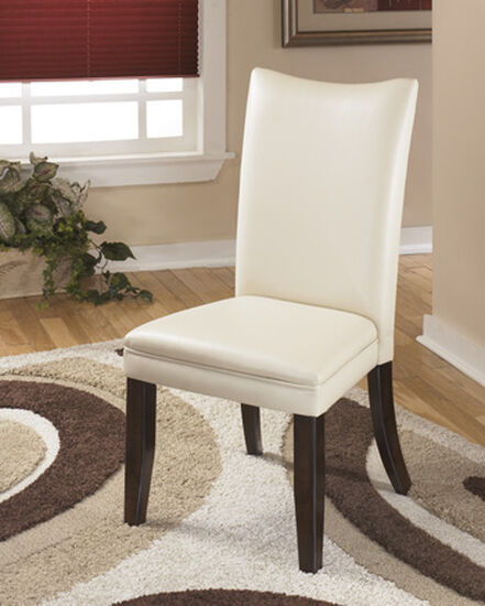 High Back 40'' Dining Side Chair in Ivory