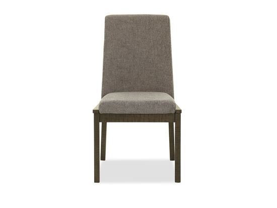 """Contemporary 37"""" Side Chair in Gray"""