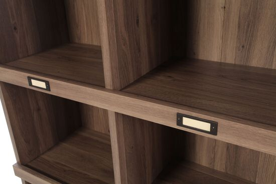 Contemporary Open Bookcase in Light Brown