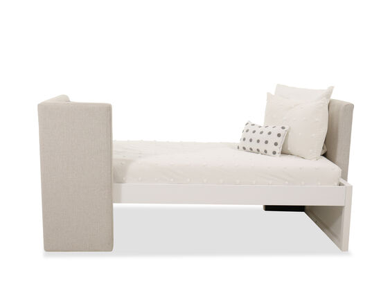 Contemporary Youth Daybed in White