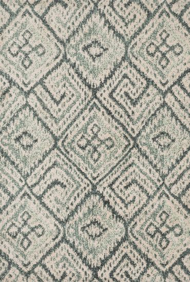 "Transitional 3'-6""x5'-6"" Rug in Teal"