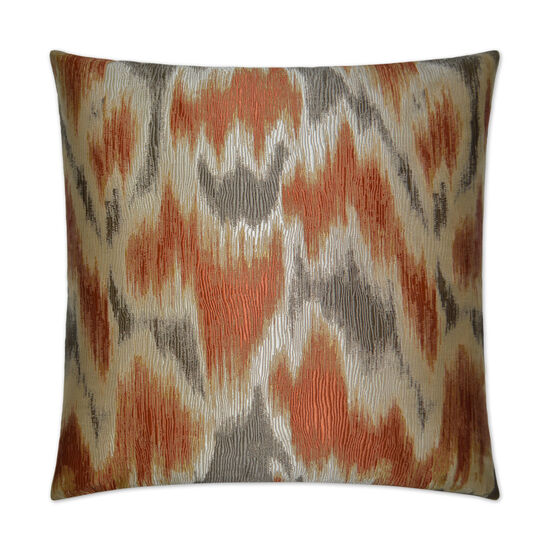 Watermark Pillow in Flame