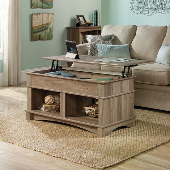 Rectangular Lift-Top Contemporary Coffee Tablein Salt Oak