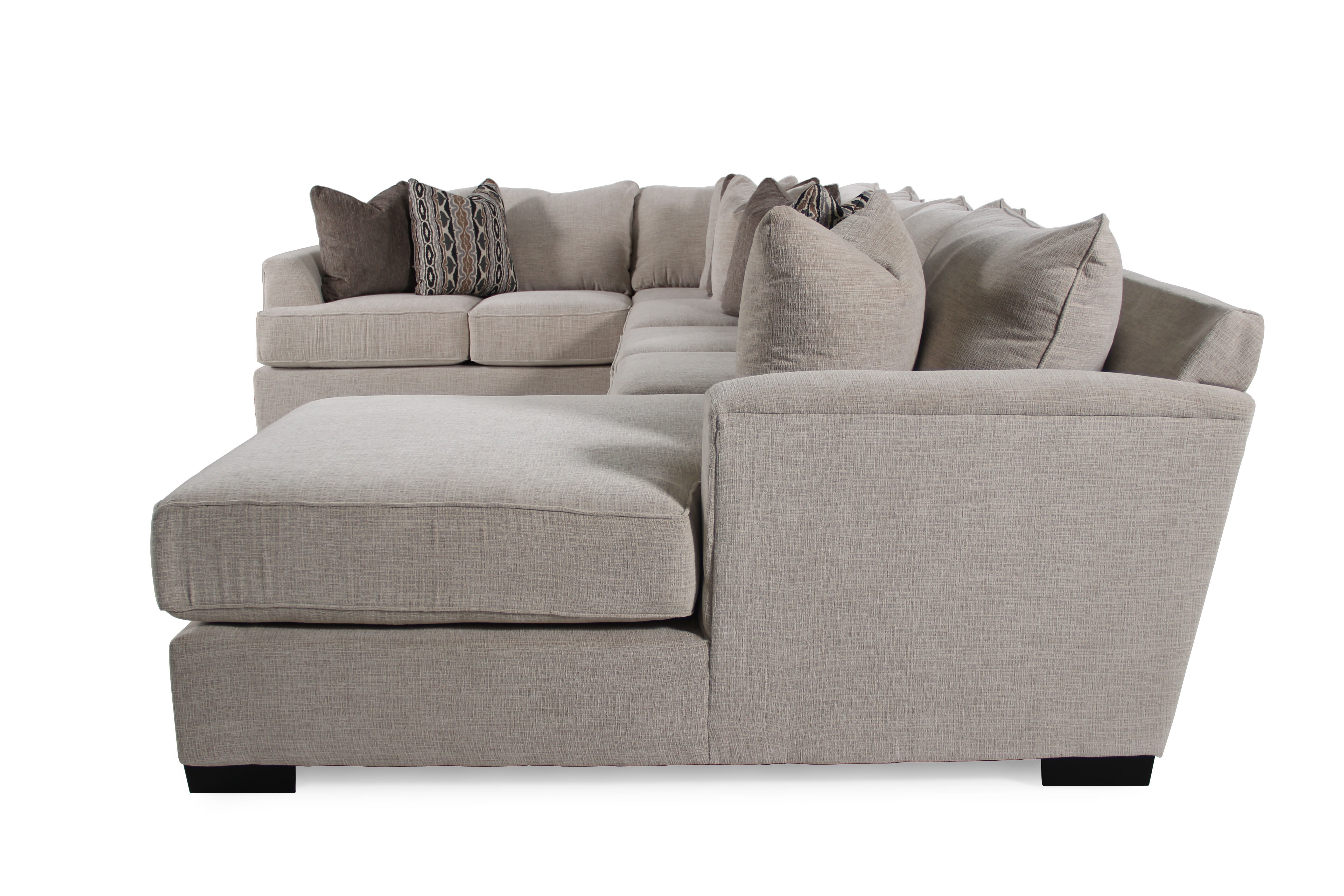 Michael Nicholas Fortune Three-Piece Sectional  sc 1 st  Mathis Brothers : three piece sectional - Sectionals, Sofas & Couches