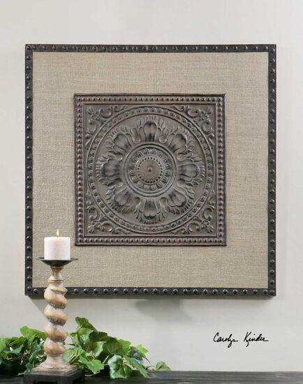 Stamped Medallion Wall Art