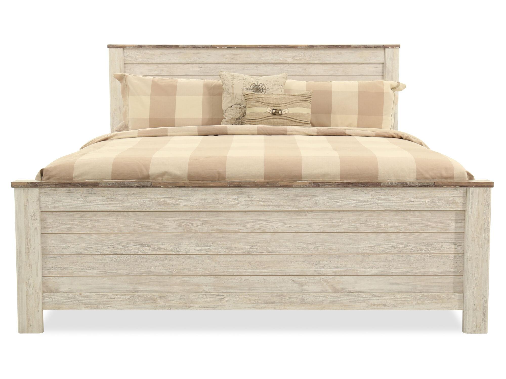 ashley willowton panel bed