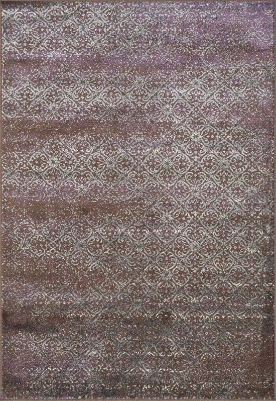 """Transitional 2'-3""""x3'-9"""" Rug in Brown/Multi"""