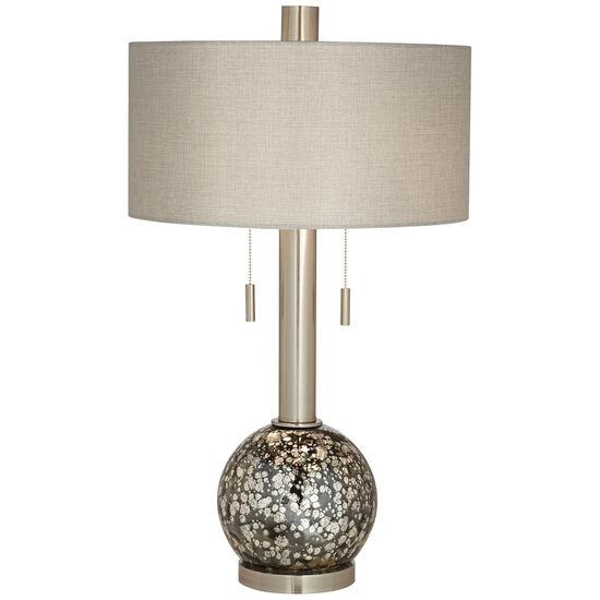Empress Brushed Nickel Table Lamp