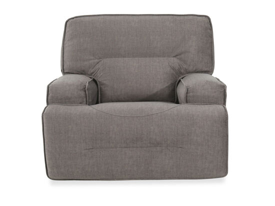 "Casual 45"" Power Glider Recliner in Charcoal"