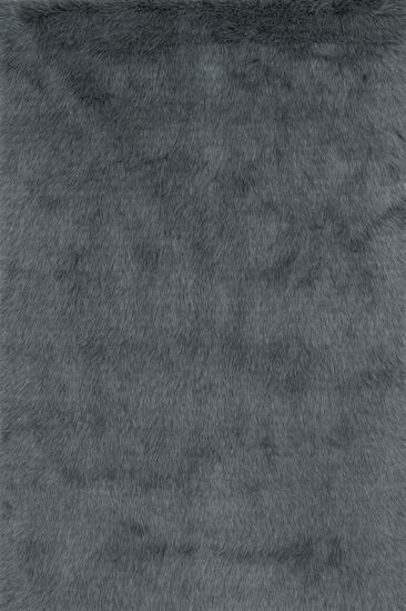 "Shags 2'-0""x3'-0"" Rug in Graphite"