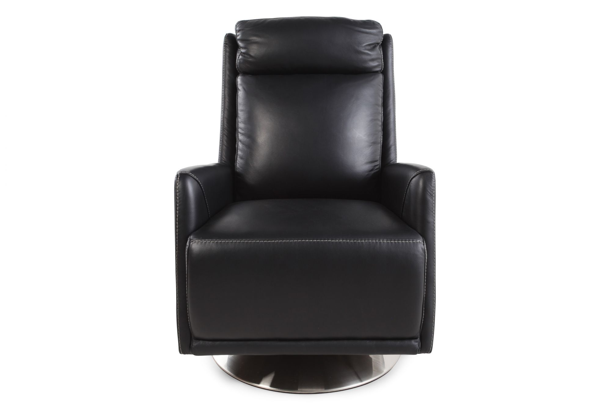 lazboy zora black leather swivel chair - La Z Boy Office Chair