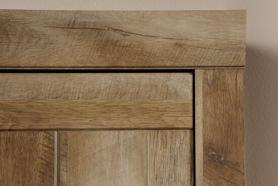MB Home Ace Storage Craftsman Oak Narrow Cabinet