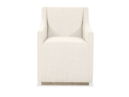 "Modern 35"" Arm Chair in Beige"