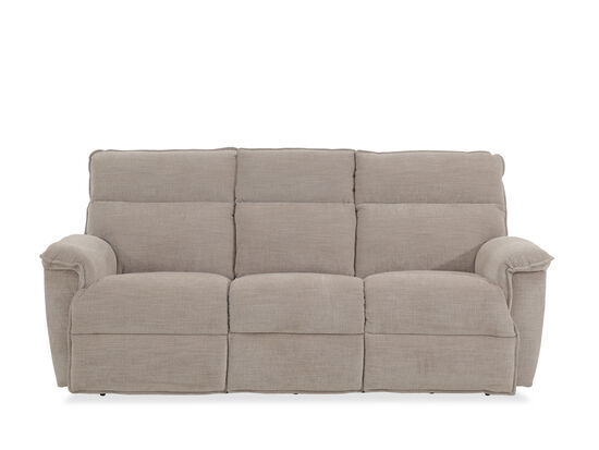 "Casual 86.5"" Power Reclining Sofa with USB Port in Barley"