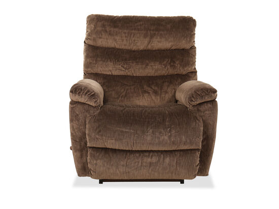 Casual 39.5'' Rocker Recliner in Brown