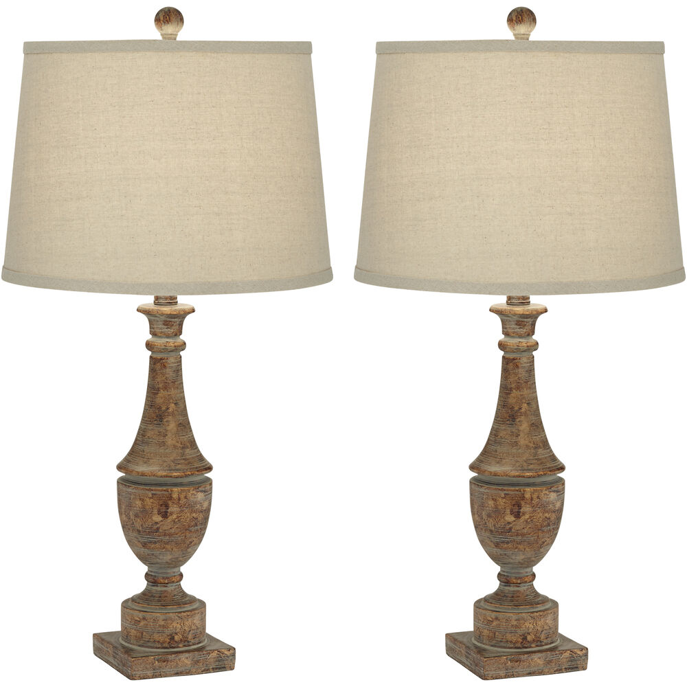 Collier Table Lamp Set