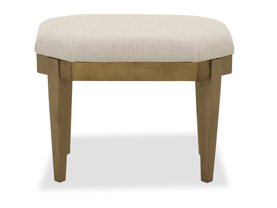 Contemporary Youth Stool in White