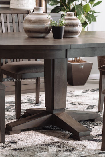 Contemporary Five-piece Dining Set in Gray