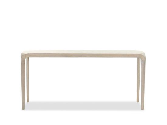Casual Console Table in Graphite