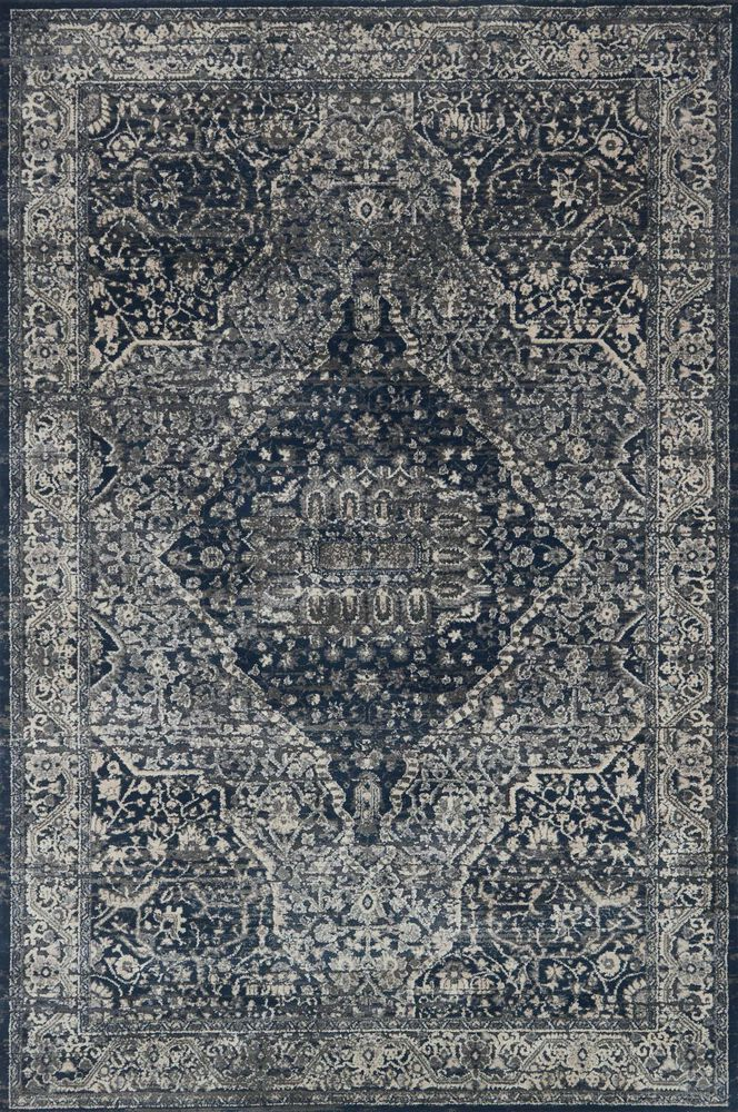 Transitional Rug in Grey/Midnight