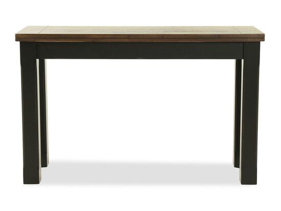 Rectangular Distressed Sofa Table in Oak