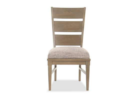 """Traditional 39"""" Armless Side Chair in Brown"""
