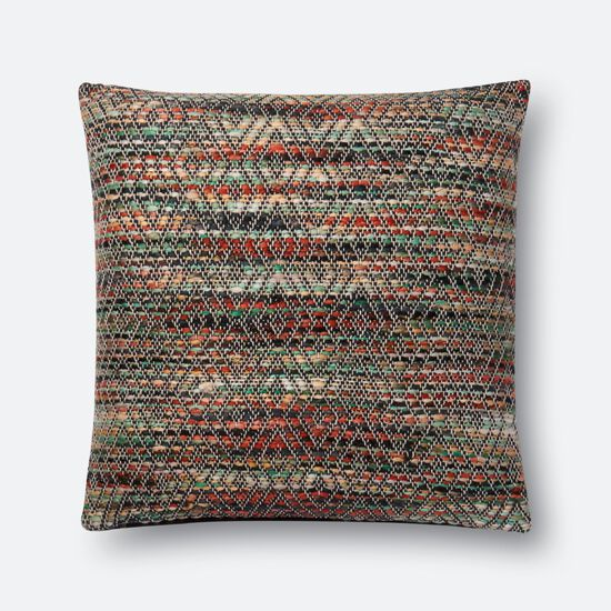 """22""""x22"""" Pillow Cover Only in Natural/Multi"""