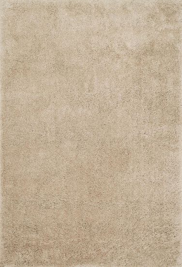 "Shags 3'-6""x5'-6"" Rug in Sand"