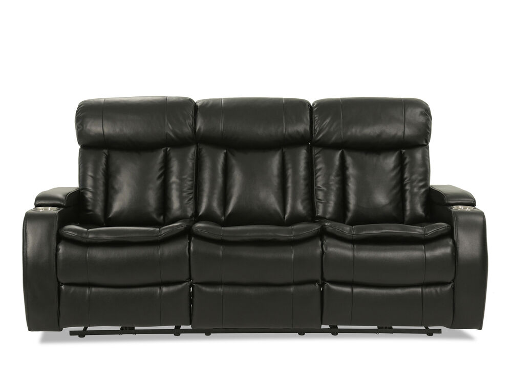 82 5 Quot Power Reclining Sofa With Usb Port And Blutetooth In