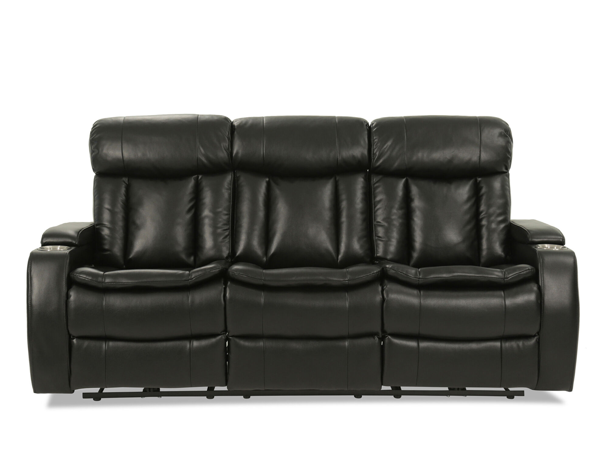 82 5 Reclining Sofa With Usb Port And Blutetooth