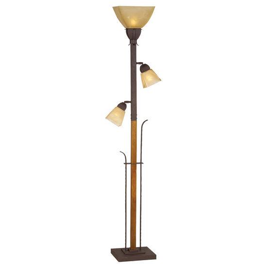 Aspen Grove Torchiere Lamp