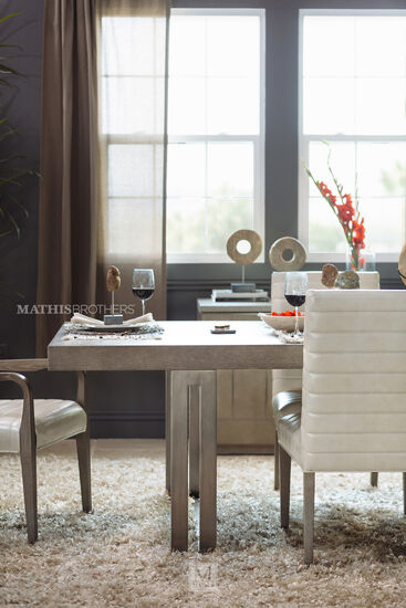 """Solid Wood 21.5"""" Side Dining Chair in Beige"""