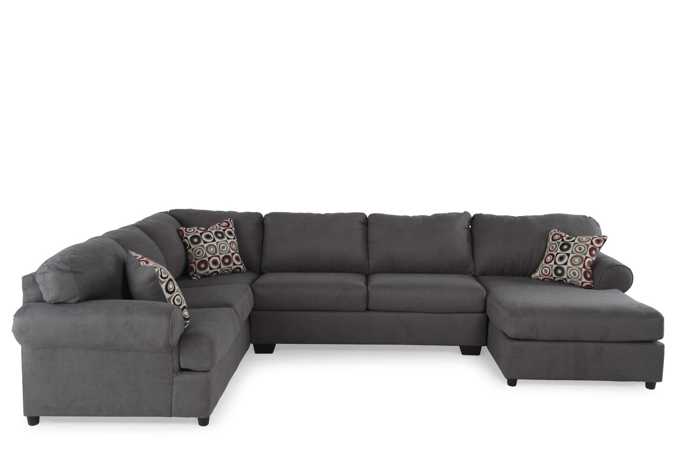 Ashley Jayceon Three-Piece Sectional | Mathis Brothers ...