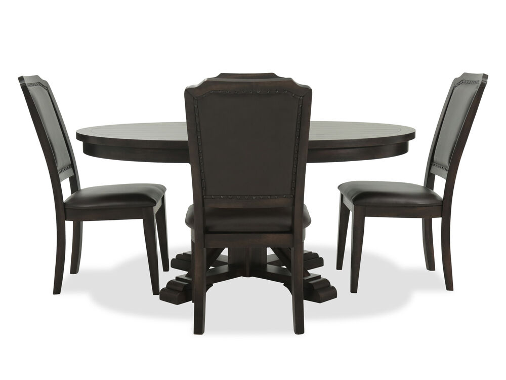 Five-Piece Casual Dining Set in Rich Brown